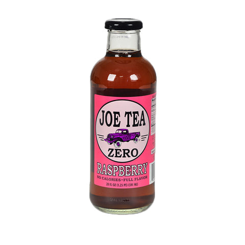 JOE TEA DIET RASPBERRY 20 oz GLASS-12/CS