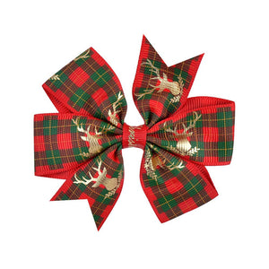 Christmas children's hairpin ear bow hair ornament