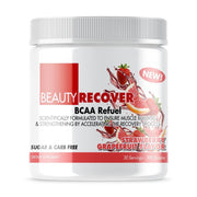 BCAA BeautyRecover® Boosts Energy Levels  Improves Carbohydrate Efficiency  Accelerates Recovery  Increases Protein Synthesis  Muscle Hydration To Prevent Cramping  Promotes Proper Hydration | BeautyFit® USA