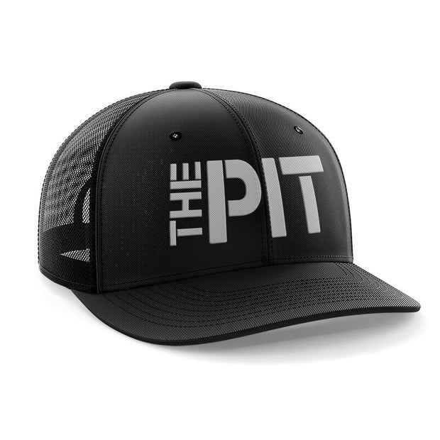 'THE PIT' Embroidered Trucker Cap