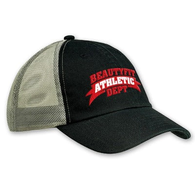 'BeautyFit Athletic Dept' Embroidered Trucker Cap