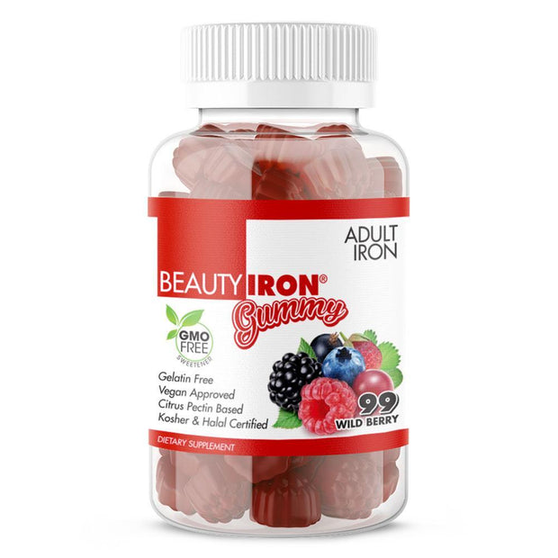 Gentle and easy on the stomach. Beauty-Iron® for Women is a great 15mg per serving source of healthy oxygen. Wild Berry flavor makes the essential nourishment for red blood cells delicious. Gain proper control during rapid growth periods. | BeautyFit® USA
