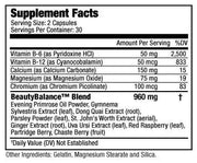 BeautyBalance® is formulated with a unique blend of ingredients to keep your body functioning optimally, by reducing the common symptoms of PMS including sugar cravings, bloating, water retention and cramping.  Helps Reduce PMS Symptoms  Helps Control Sugar Cravings  Decreases Cortisol Levels  Supports Hormonal Balance Supports Weight Loss | BeautyFit® USA