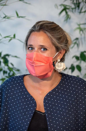 Masques en soie - Lot de 2 -