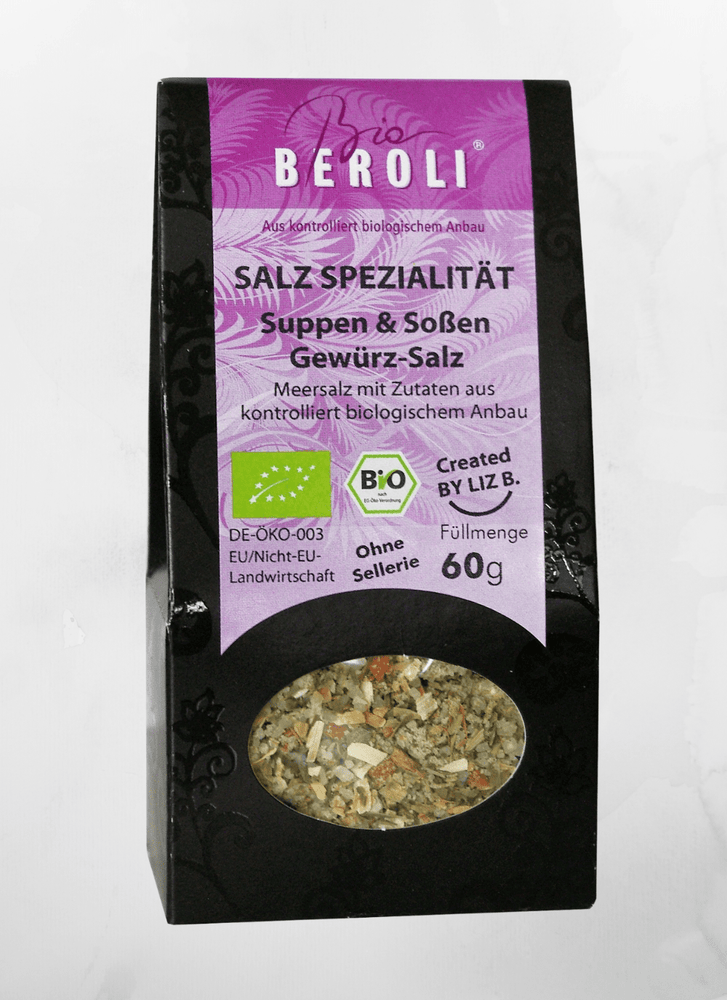 Beron - Salz Suppengewürz Salzkreation - 60g - allesbiovegan