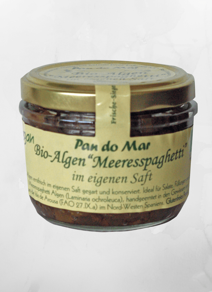"Pan do Mar - Antipasti ""Meeresspaghetti"" - Algen - 120g - allesbiovegan"