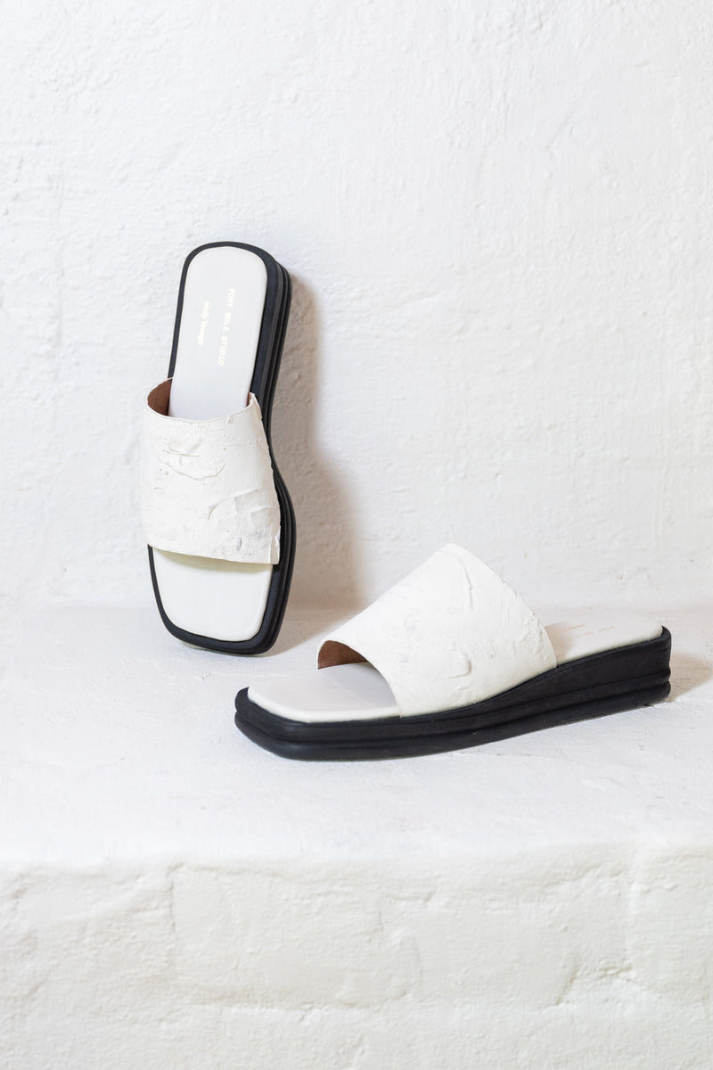 PRE ORDER - PSS x Molly Younger Slide White