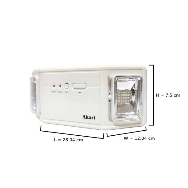ALEG-L423 LED Emergency Light 2x2 Watts