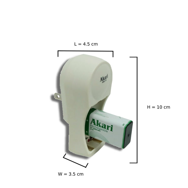 ARBC-9V 3 in 1 Mini Battery Charger