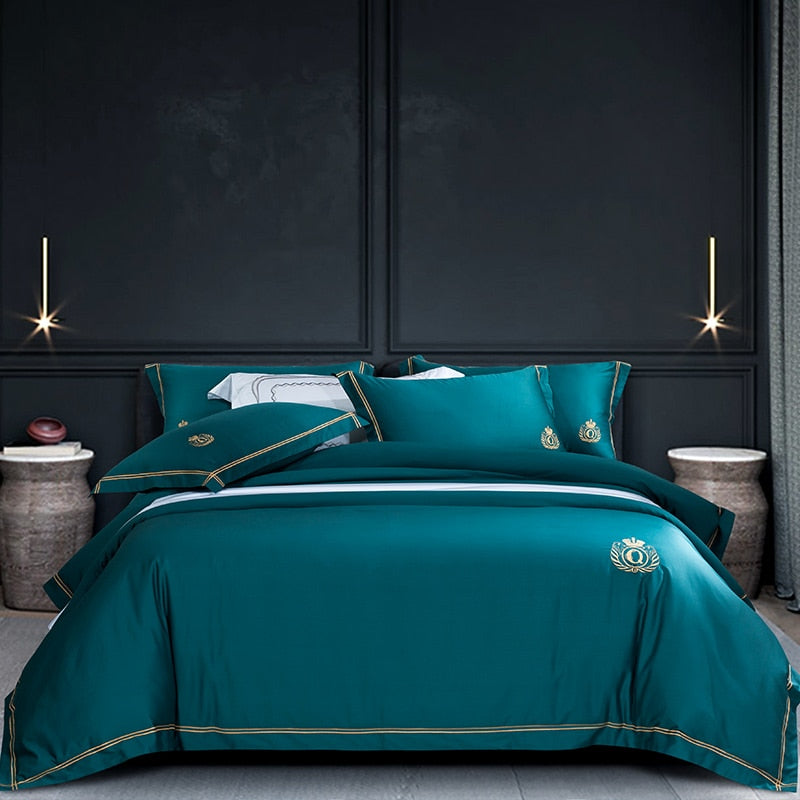 Qubica Duvet Soy bean Comforter set 800TC - Tiffanycovers