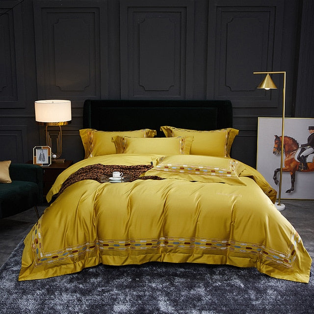 Gerota Egyptian Cotton Soft Duvet Cover Set