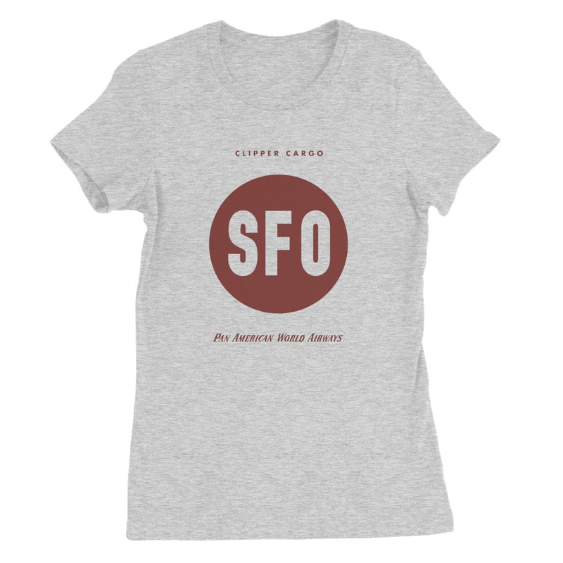 Pan Am® Clipper Cargo SFO Women's Favourite T-Shirt