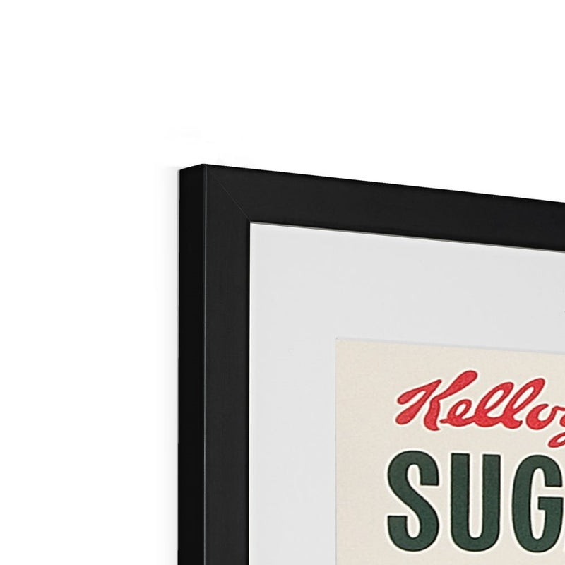Kellogg's™ Sugar Smacks Retro Box II Framed & Mounted Print