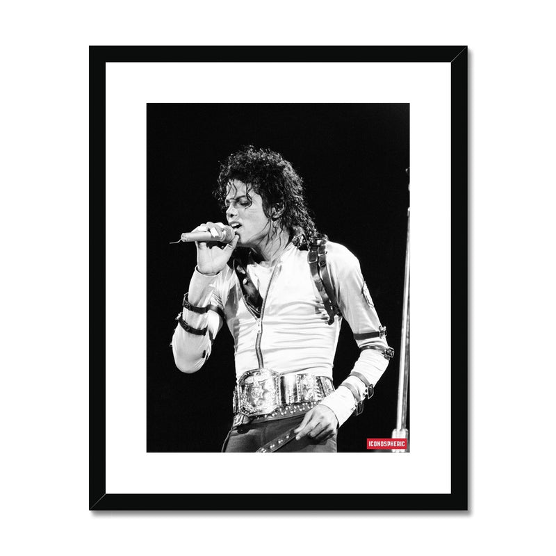 Iconospheric Michael Jackson 1988 Framed & Mounted Print