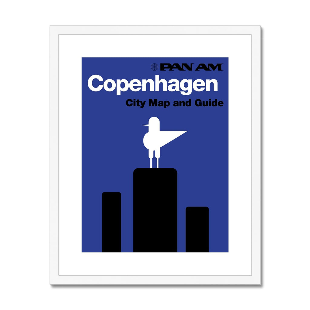 Pan Am® Copenhagen Framed & Mounted Print
