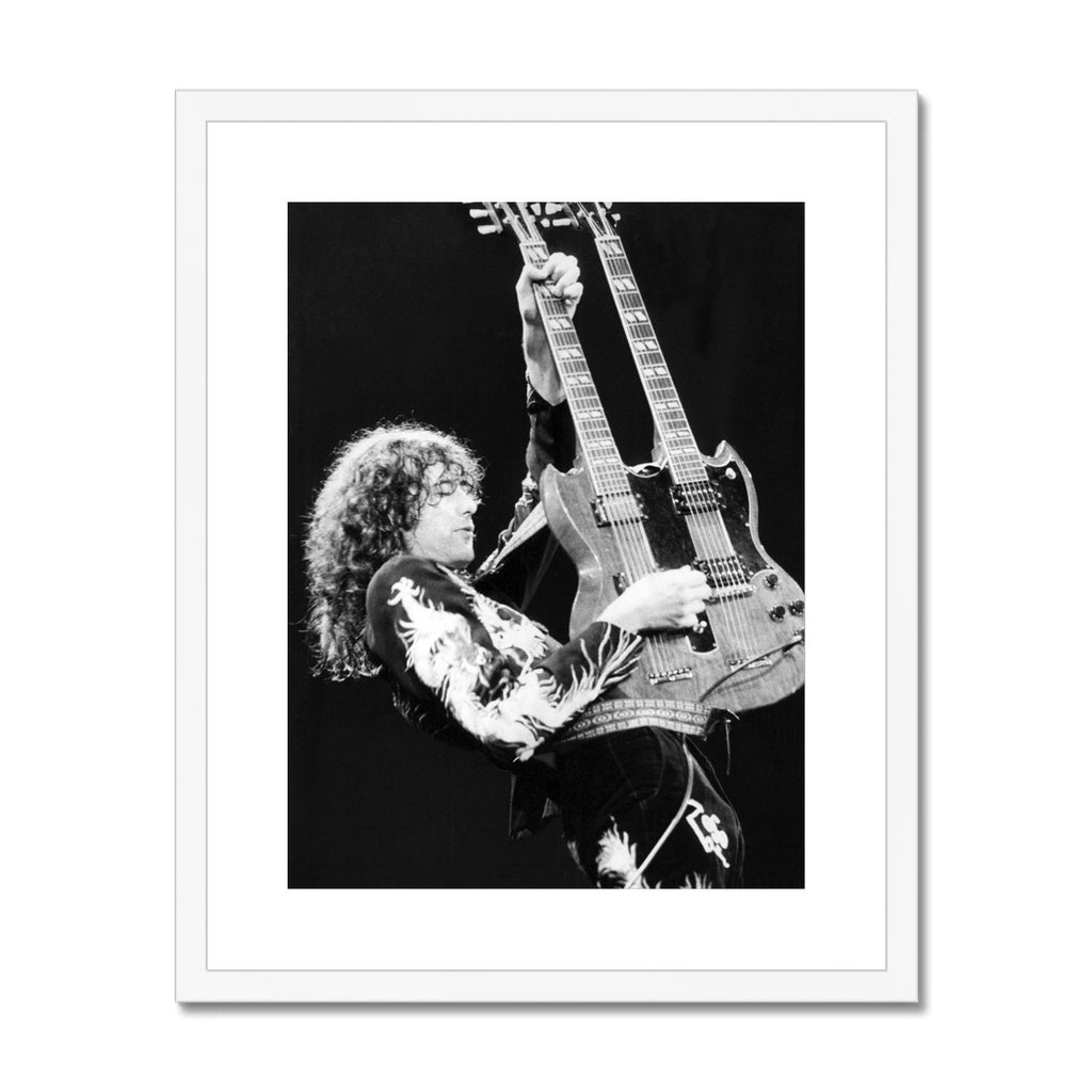 Jimmy Page Framed & Mounted Print