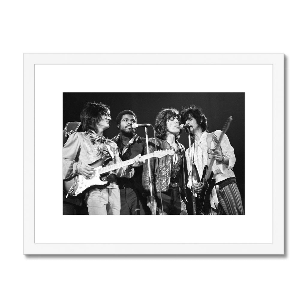 The Rolling Stones  Framed & Mounted Print
