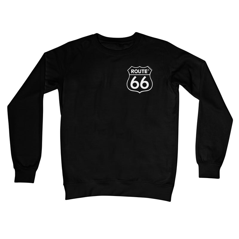 ROUTE 66® Logo Crew Neck Sweatshirt