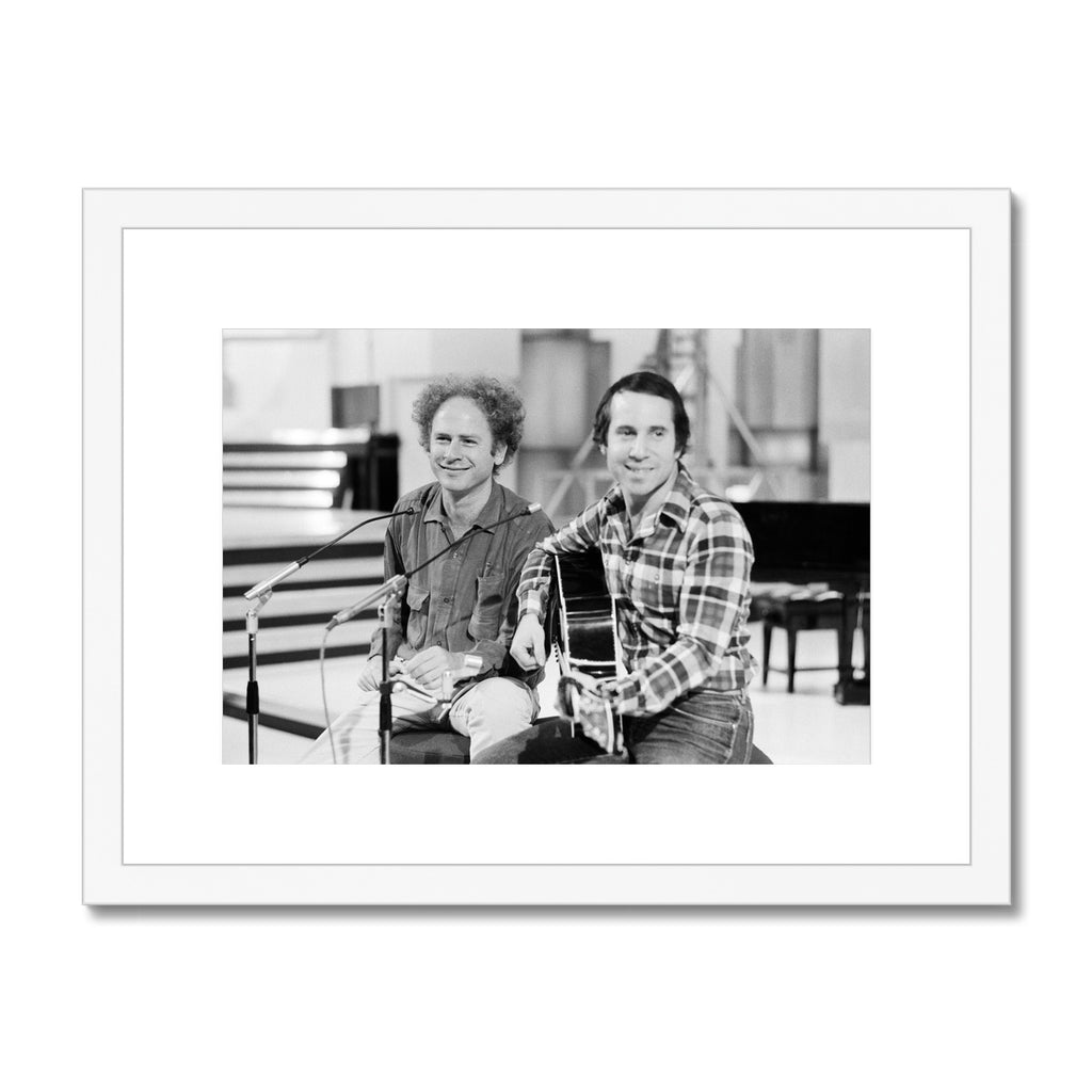 Simon and Garfunkel Framed & Mounted Print