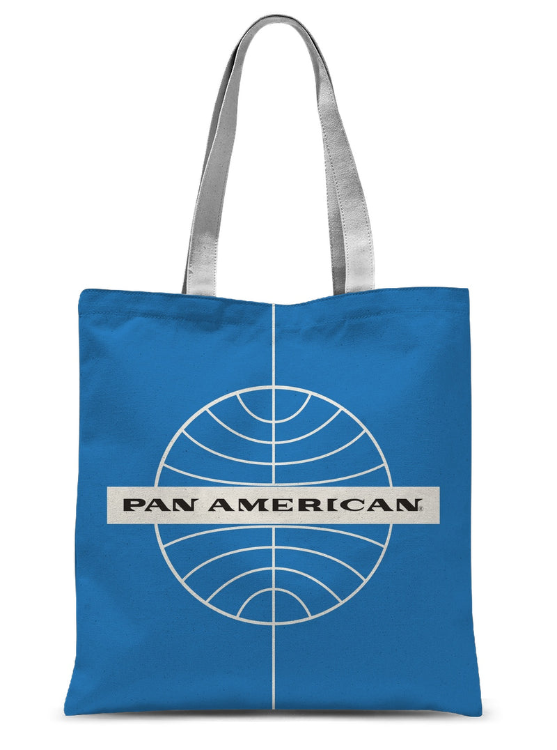 Pan Am® Early Globe Jet Sublimation Tote Bag
