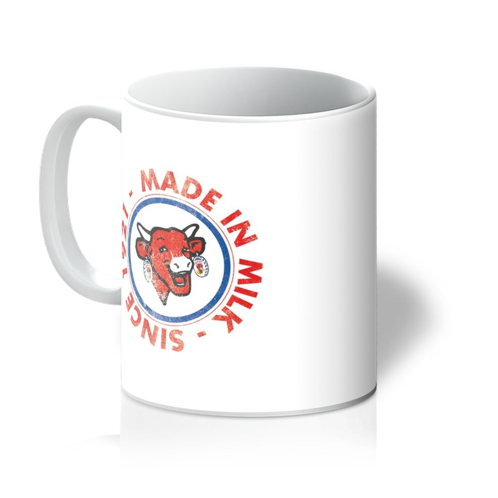 TLC Made In Milk 1921 Crest Mug