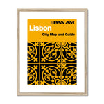 Pan Am® Lisbon Framed & Mounted Print