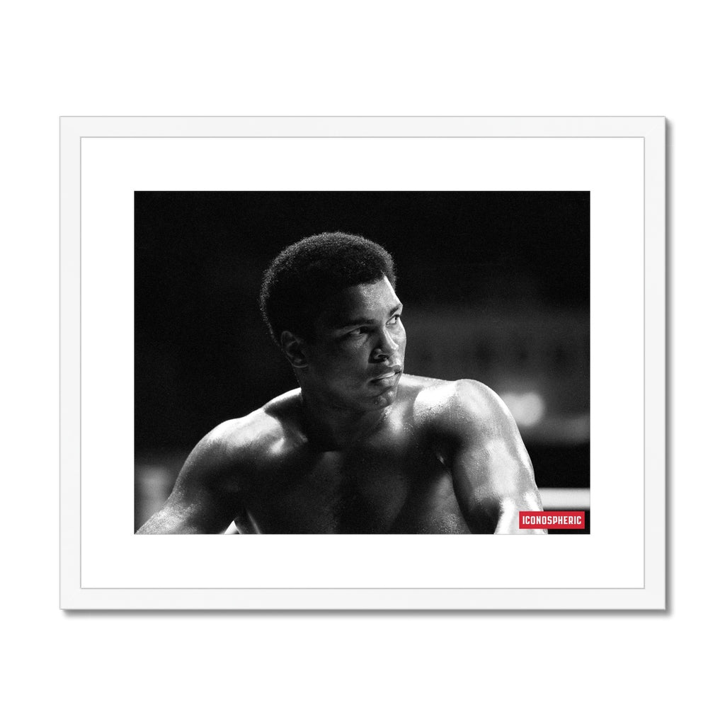 Iconospheric Muhammad Ali Framed & Mounted Print