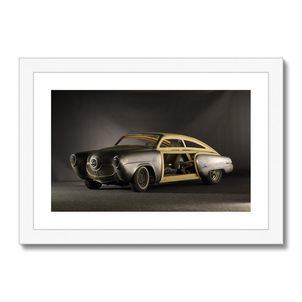 Studebaker® Custom 1961 Unfinished Project Framed & Mounted Print