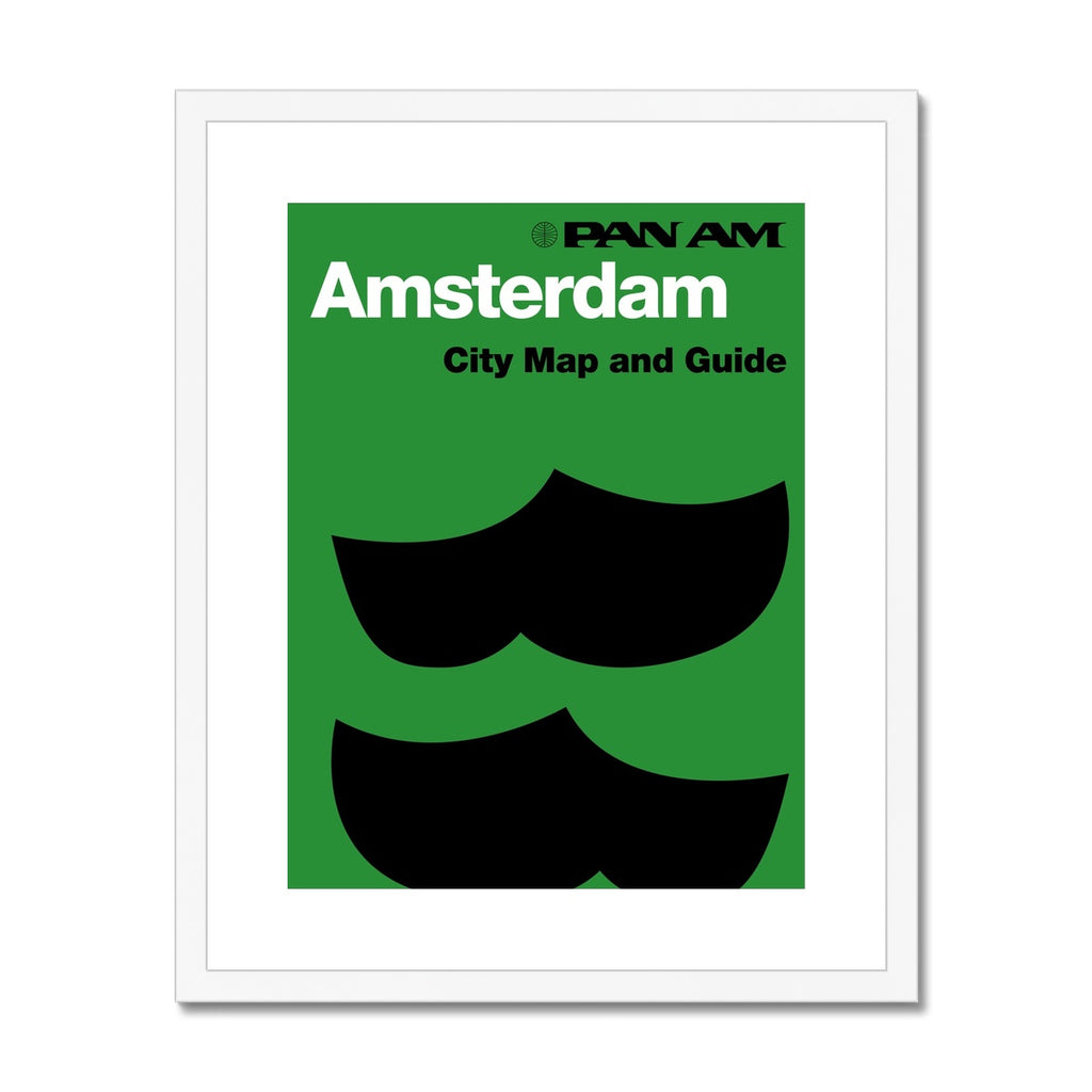 Pan Am® Amsterdam Framed & Mounted Print