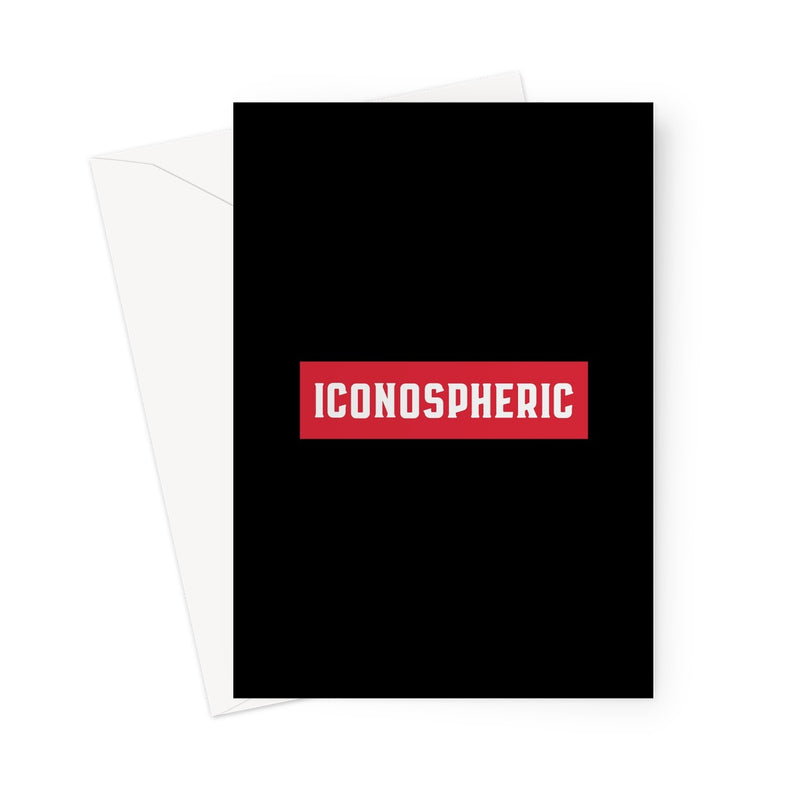 Iconospheric Logo Greeting Card