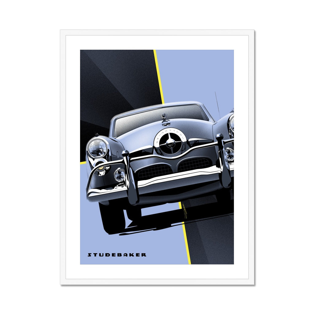 Studebaker® Champion by Geoff Ombao Framed & Mounted Print