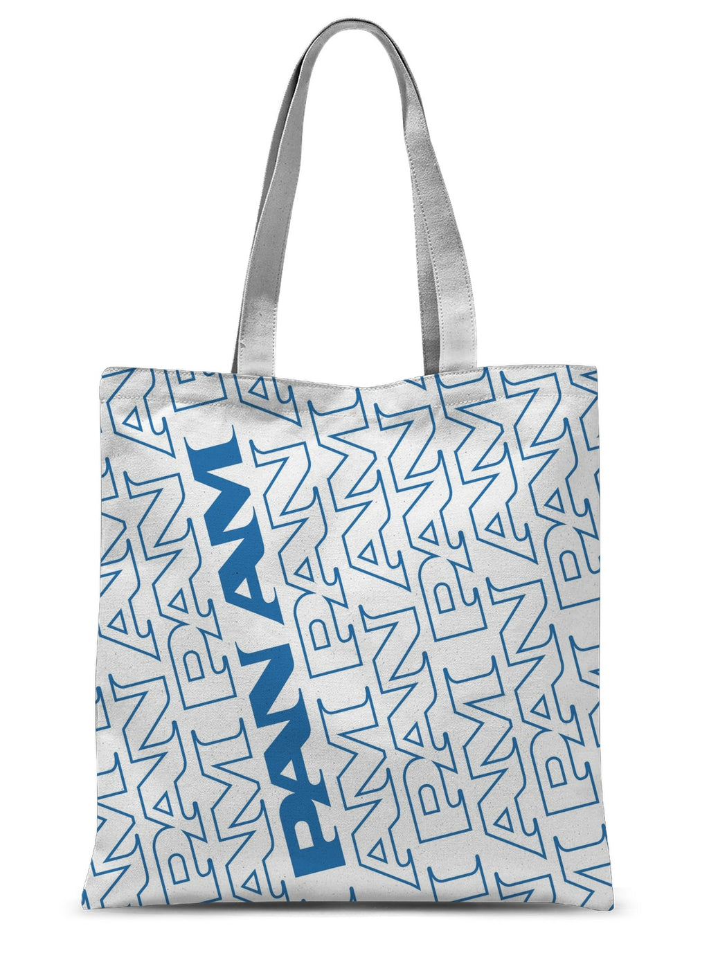 Pan Am® Step Pattern Sublimation Tote Bag