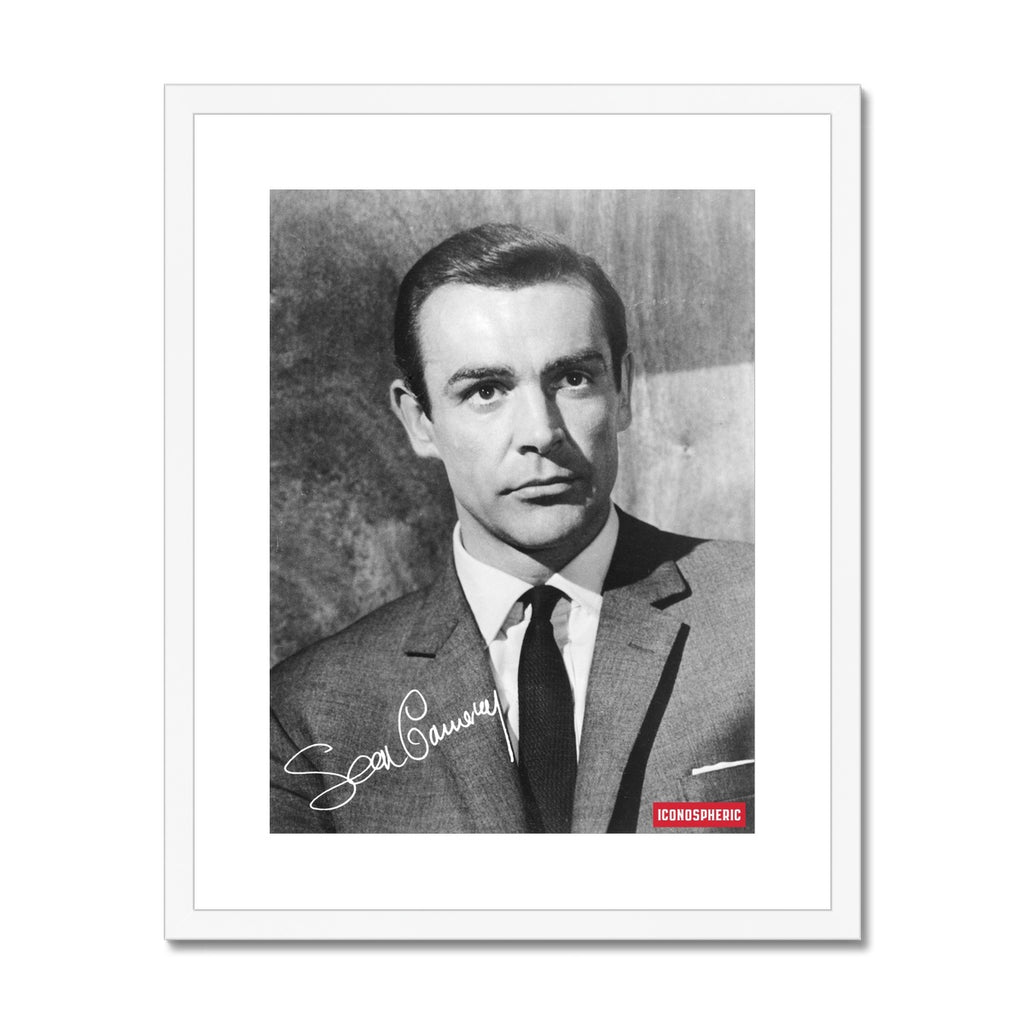 Iconospheric Sean Connery Framed & Mounted Print