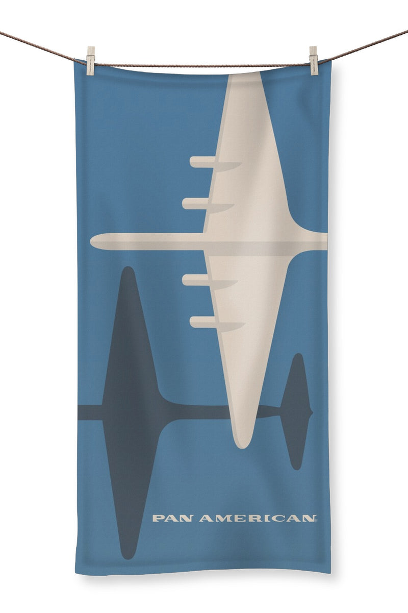 Pan Am® Large Plane Towel