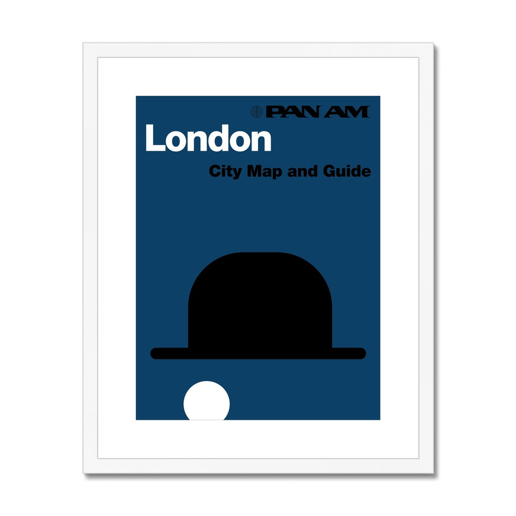 Pan Am® London Framed & Mounted Print