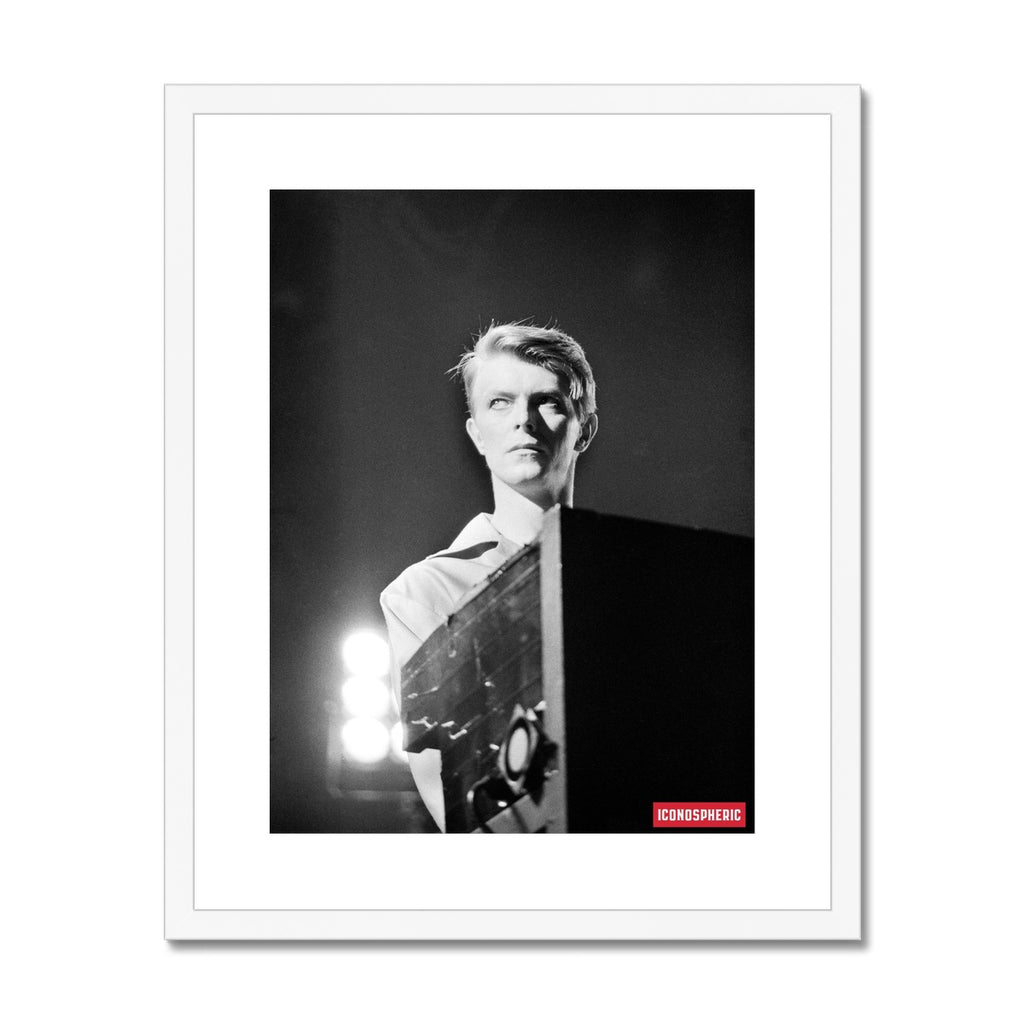 Iconospheric David Bowie 1978 Framed & Mounted Print
