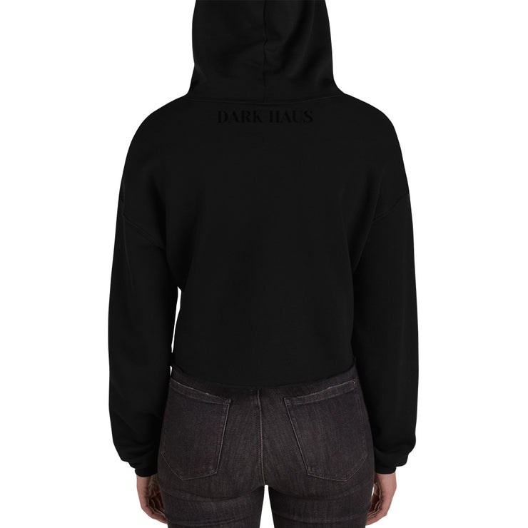 STAY AWAY - Crop Hoodie