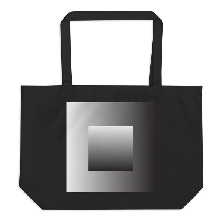 GRAYDIENT - Large organic tote bag