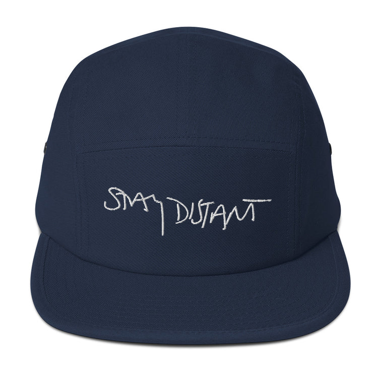 STAY DISTANT - Five Panel Cap