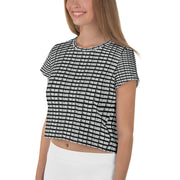 TOO CLOSE - All-Over Print Crop Tee