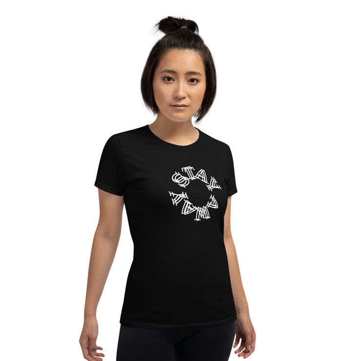 STAY AWAY - Women's short sleeve t-shirt