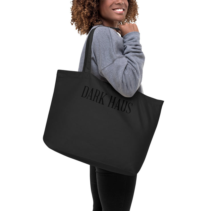 STAY AWAY - Large organic tote bag