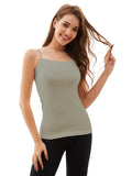 Women's Adjustable Straps Seamless Non-Padded Camisole Tanktop 1242 (7 colors)