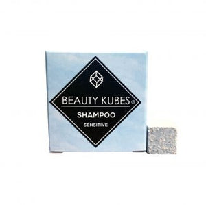 Beauty Kubes Shampoo for Sensitive Hair Travel Sample Size