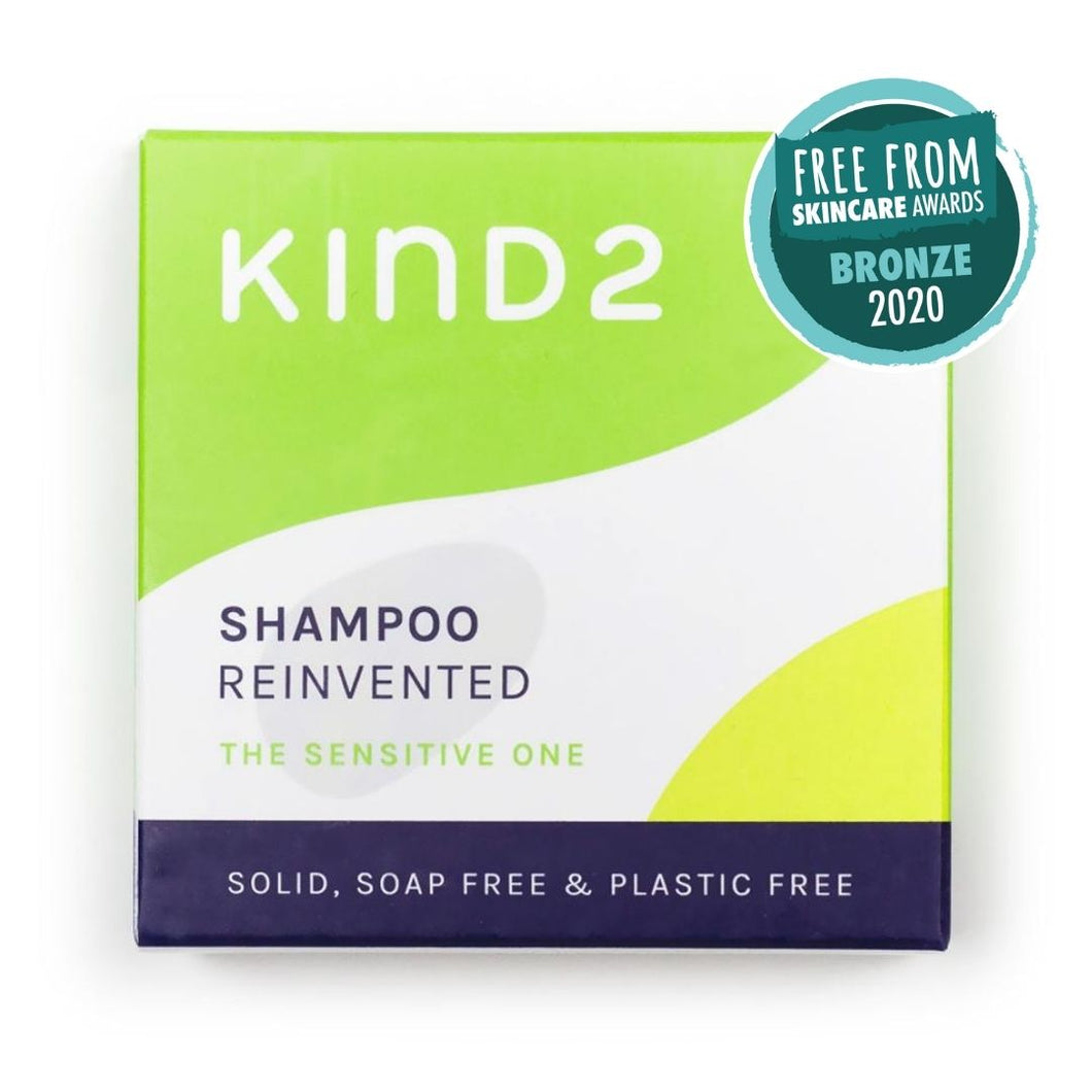 Kind2 Solid Shampoo Bar - The Sensitive One