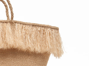 The Basket Room Woven Fringed Bag