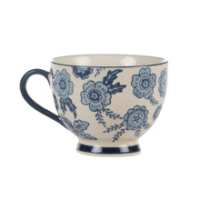 Load image into Gallery viewer, Blue Willow Floral Tea Mug