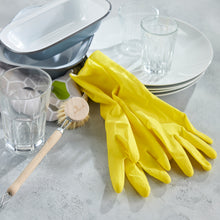 Load image into Gallery viewer, Natural Rubber Gloves - Green