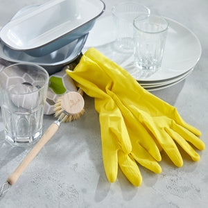 Natural Rubber Gloves - Green