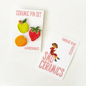 Limited Edition Fruit Pin Pack